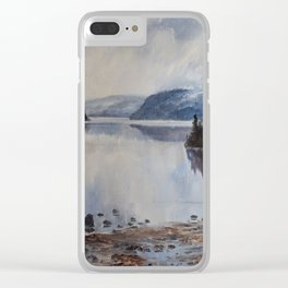 Grice Bay Clear iPhone Case