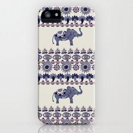 Indian Style Indie Hand Drawn Art iPhone Case