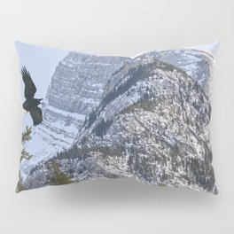 Mt Rundle & Raven (Canadian Rockies) Pillow Sham