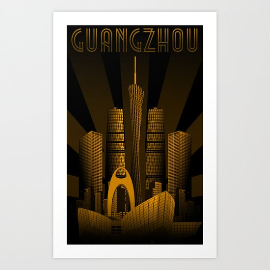 Guangzhou (China) Art Print