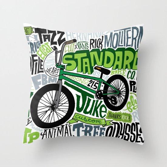 Standard! Throw Pillow