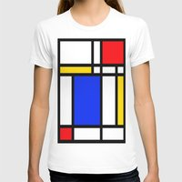 mondrian T-shirts featuring Mondrian by The Wellington Boot