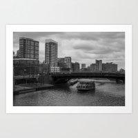 Chicago River Art Print