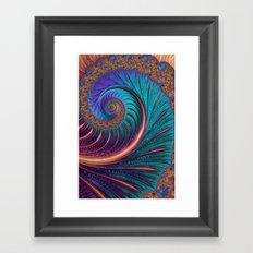 Blue Wave Framed Art Print
