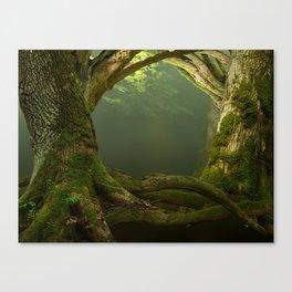 Forest Gates Canvas Print