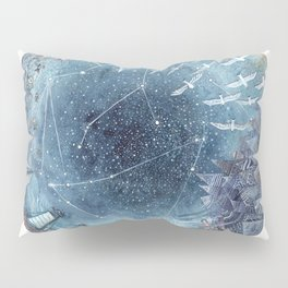 Capricorn & Aquarius friendship Pillow Sham