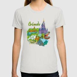 Orlando USA T-shirt