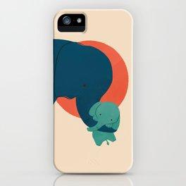 Baby Elephant 2 iPhone Case