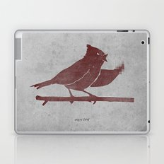 the bird is the f-word Laptop & iPad Skin