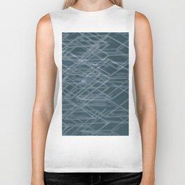 Abstract geometric background Biker Tank