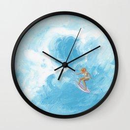 Rock Steady & Flying Wall Clock