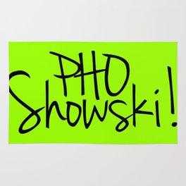 Pho Showski! Rug