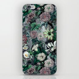Floral Camouflage VSF016 iPhone Skin