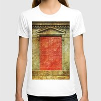 doors T-shirts featuring Red Doors by davehare