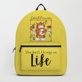 The Best Things in Life Backpack