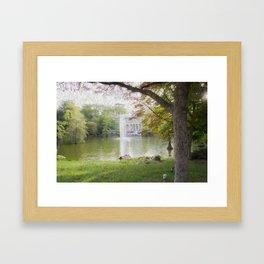 Crystal Palace Oleo  Framed Art Print