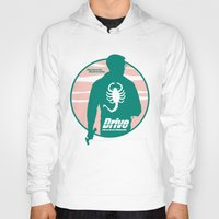 drive Hoodies featuring DRIVE by Alain Bossuyt