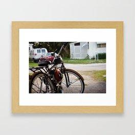 Huffy Framed Art Print