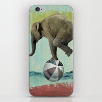 balance iPhone & iPod Skins featuring Balance by Vin Zzep