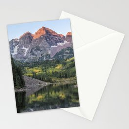 Sunrise at Maroon Bells, No. 2 Stationery Cards