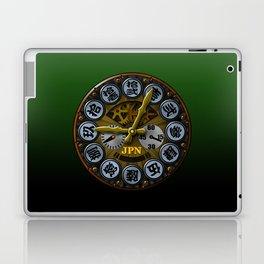 JPN clock Laptop & iPad Skin