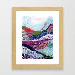 Abstract Landscape Framed Art Print