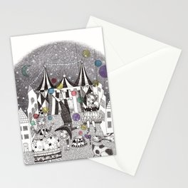 Night Carnival Stationery Cards