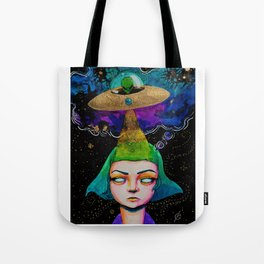 Thought Invaders Tote Bag
