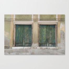 Venitian Turquoise Canvas Print