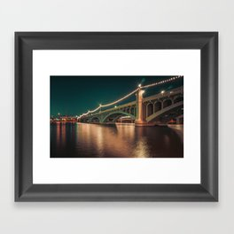 Tempe Town Lake Framed Art Print