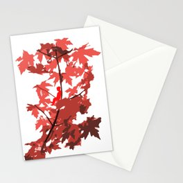 Tree Sitting Stationery Cards