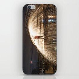 Fire on the Bridge iPhone Skin