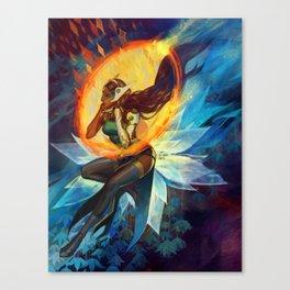 Symmetra - Portal Canvas Print