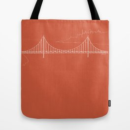 San Francisco by Friztin Tote Bag