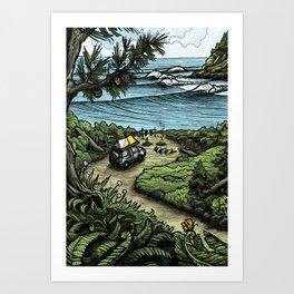 Oceanfront Art Print