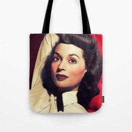 Lilli Palmer, Vintage Actress Tote Bag