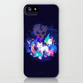 Fox of the Magic forest iPhone Case