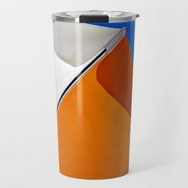 Umbrella Abstract Travel Mug