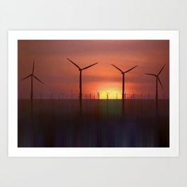 Clean Energy (Digital Art) Art Print
