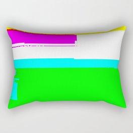 Unstable child Rectangular Pillow