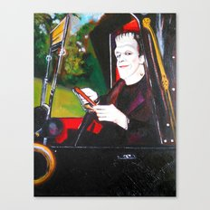 The Munsters Herman Munster Canvas Print