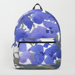 Beautiful Blue Delphiniums Backpack