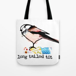 Long Tailed Tit Tote Bag