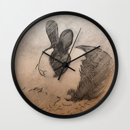 Lmtd Edition Bunny Wall Clock