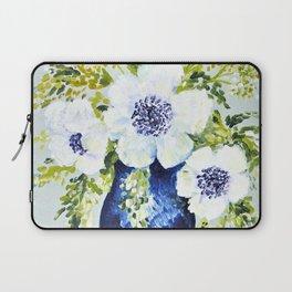 Anemones in vase Laptop Sleeve