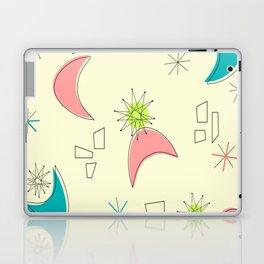 Boomerangs and Starbursts Yellow Laptop & iPad Skin