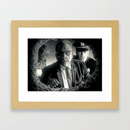 A Handful at a Time Framed Art Print