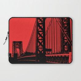 George Washington Bridge Laptop Sleeve