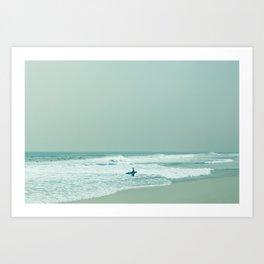 Surfing - Dawn Patrol Art Print
