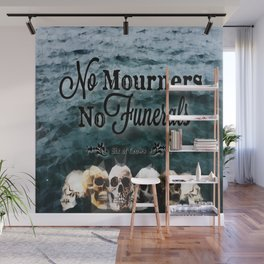 No Mourners - Black Wall Mural